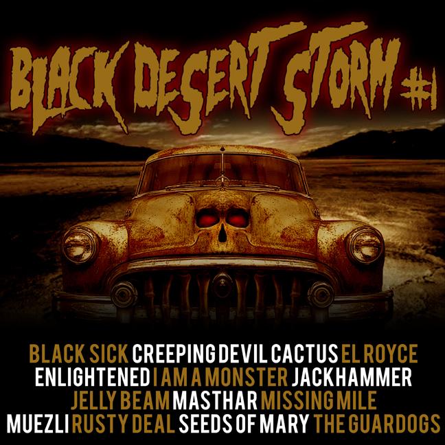 BLACK DESERT STORM #1